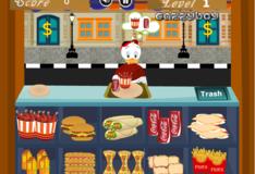 Игра Игра Утиные истории: Кафе Скруджа Макдака