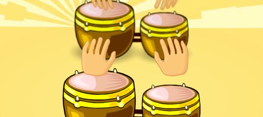 Игра Удары барабана