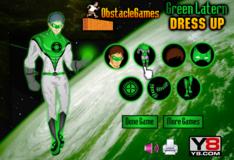 Игра Игра Одень Зеленый Фонарь