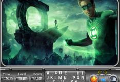 Игра Игра Зеленый фонарь: Найдите алфавит