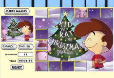 Игра Игра Рождественский пазл Кит виси Кэт