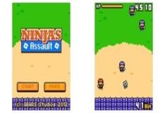 Игра Ниндзя атакуют