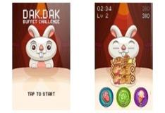Игра Прожорливый кролик Дак Дак