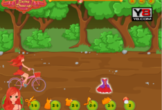 Игра Игра Красная шапочка на велосипеде