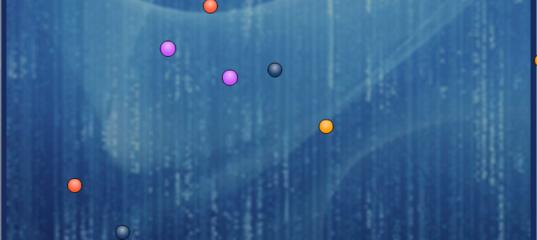 Игра Цветные точки