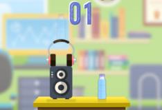 Игра Игра Вызов переворачивающейся бутылки
