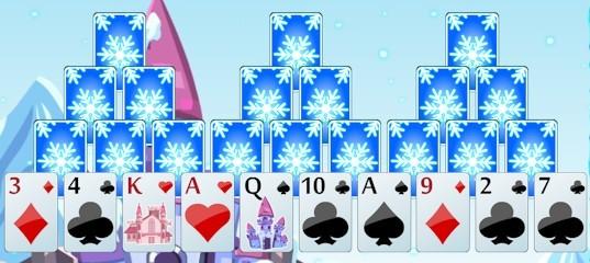Пасьянс «Замороженный замок»