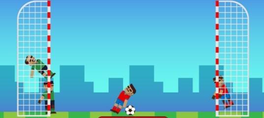 Игра на двоих: Soccer Physics Mobile