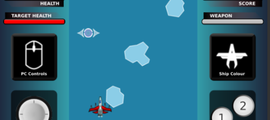 Игра Летающий боец