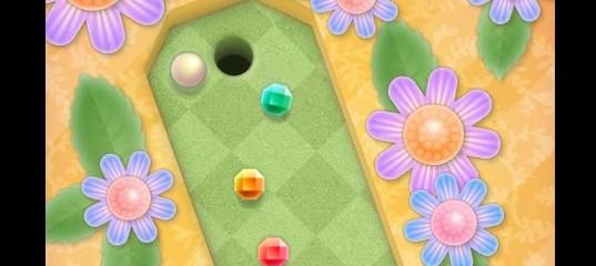 Мини-гольф в саду