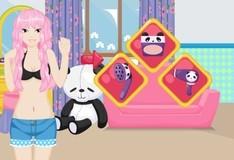 Игра Прическа от панды