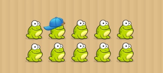 Коснись лягушки