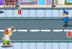 Игра Чувак-скейтер