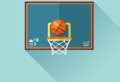 Игра Basketball FRVR