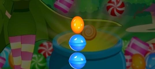 Падающие конфеты