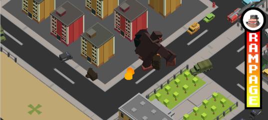 Игра Разрушение города