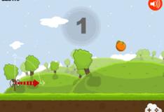 Игра Игра Топор против фруктов