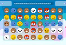 Игра Игры Животные три в ряд