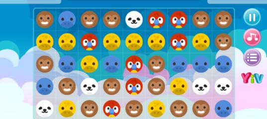 Игры Животные три в ряд