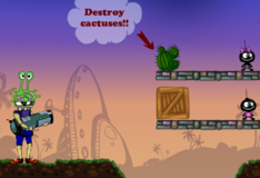 Игра Игры Глупые бомбы и космические захватчики