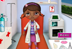 Игра Доктор Плюшева в  больнице