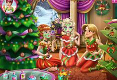 Игра Рождественская вечеринка в стиле Дисней