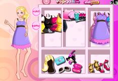 Игра Наряди девушку как Барби