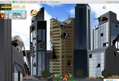 """Игра Игра Мстители и Человек-Муравей на защите здания """"Щит"""""""