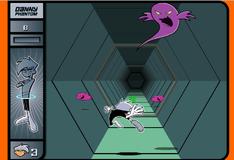 Игра Денни Фантом в портале с препятствиями