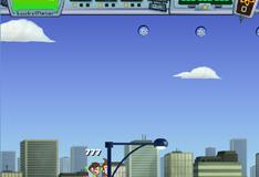 Игра Джимми Нейтрон на самолете