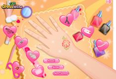 Игра Украшение рук