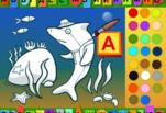 Играть бесплатно в Раскраска азбука