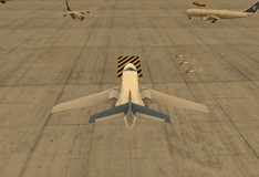Игра Летная академия 3D. Парковка самолета