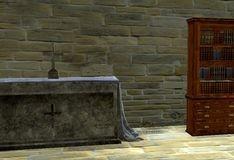 Игра Побег из средневековой церкви