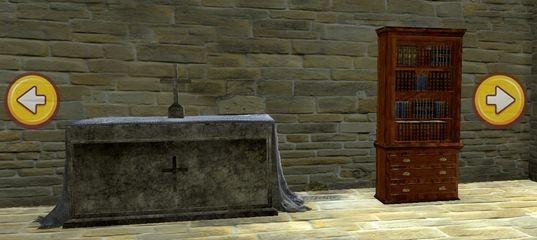 Побег из средневековой церкви