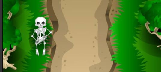 Игры Викинг против скелетов