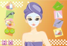 Игра Игры Свадебный Макияж Сары