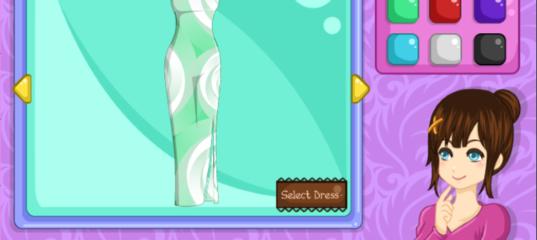 Игры Дизайнер Моды: Платье