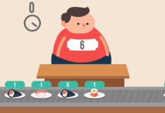 Игра Игры Математика. Накорми толстяка