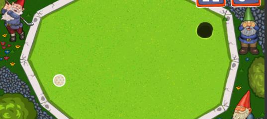 Игра Мини-Гольф Королевство