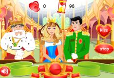 Игра Игра Поцелуй принцессы