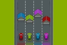 Игра Цветные гаражи