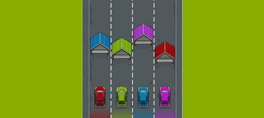 Цветные гаражи