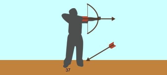 Игра на двоих: Лучник