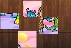 Игра Детский пазл из блоков