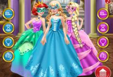 Игра Принцесса Золушка на волшебном балу!