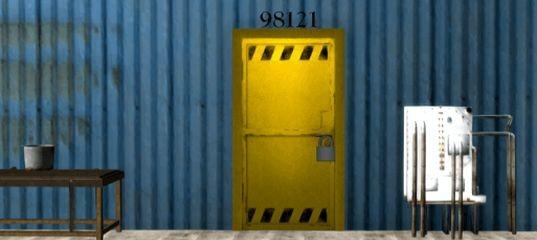 Побег из голубого склада. Эпизод 2.