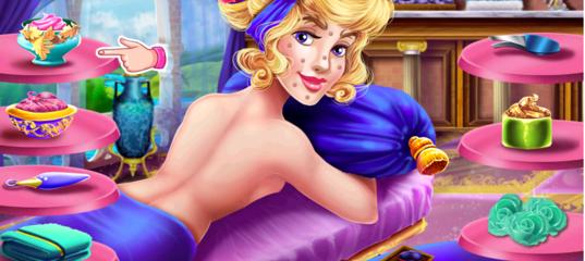Sleeping Princess Spa Day