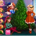 Игра Игра Девочки празднуют Рождество