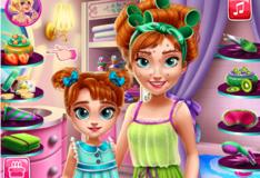 Игра Игра Принцесса Анна с дочкой в Спа
